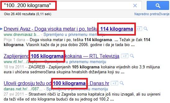 Napredno pretraživanje putem interneta