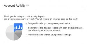 activity report 2