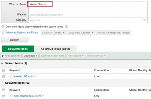 Novi izgled keyword toola 6