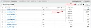 Novi izgled keyword toola 7