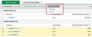 Novi izgled keyword toola 8