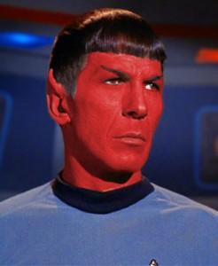 Zvjezdane staze crveni Spock