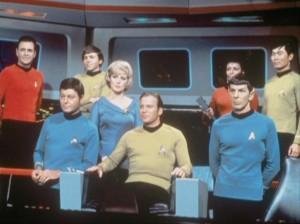 Zvjezdane staze Posada