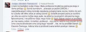 Komentar posta gramaticki nacisti