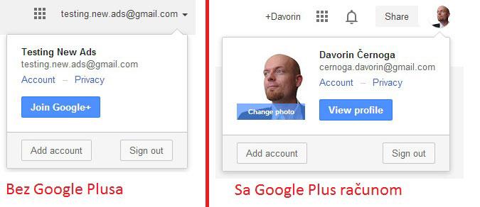 Odjava sa Google racuna