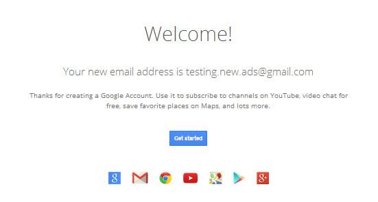 Otvoreni novi racun - email