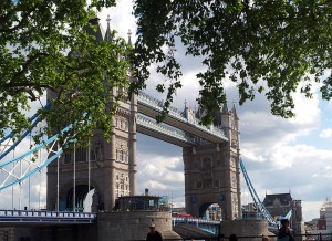 London Tower bridge 2014