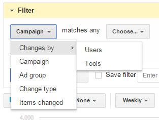 Opcije filtriranja