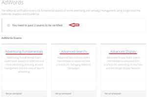 Three Test AdWords Google Partners