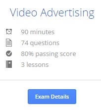 Video advertising adwords info